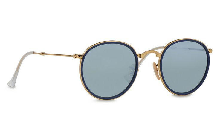 Round Folding Flash Lenses Sunglasses by Ray Ban. Round Folding Flash Lenses Sunglasses is an absolute great product. There's a reason we chose to give away the Round Folding Flash. Trendy collection by Rayban, Retro style sunglasses with rounded lens, cool sunglasses for everyday use. http://www.zocko.com/z/JFgbE