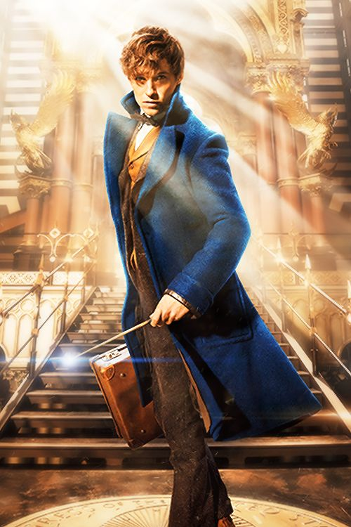 Eddie Redmayne as Newt Scamander in the upcoming Fantastic Beasts and Where to Find Them