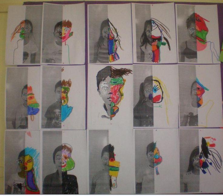παιχνιδοκαμώματα στου νηπ/γειου τα δρώμενα: τα πορτρέτα μας... και ο Pablo Picasso !!!
