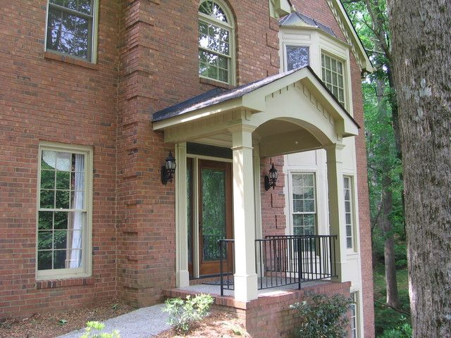 38 Best Gable Roof Porch Amp Portico Ideas Images On