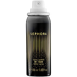 glitter hair spray?  might be fun for new years!