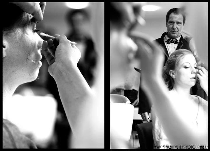 Wedding Hair,Fräulein Wunder Fotografie NRW, Brauthaar, Hochzeitsfotografie, Braut Make-Up, wedding Make Up, Bride, Dad