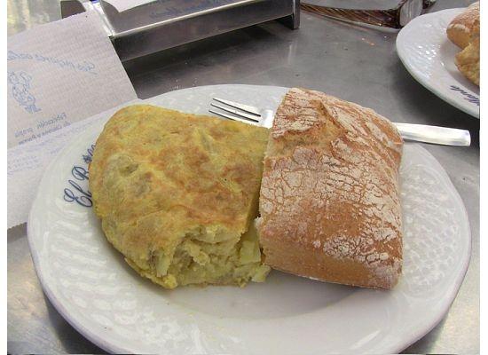 First - Tortilla Española!! I'm getting excited!