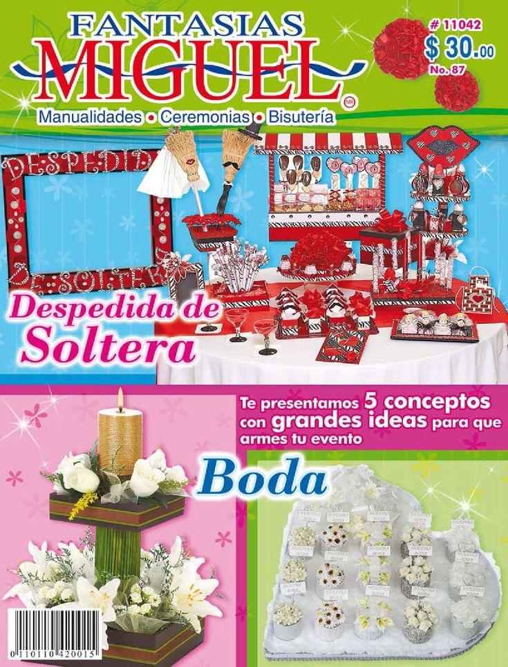 Revista 87  Revista Fantasias Miguel Manualidades y Ceremonias
