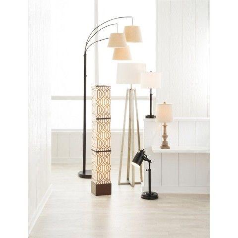 threshold 3 arm arc floor lamp. Black Bedroom Furniture Sets. Home Design Ideas