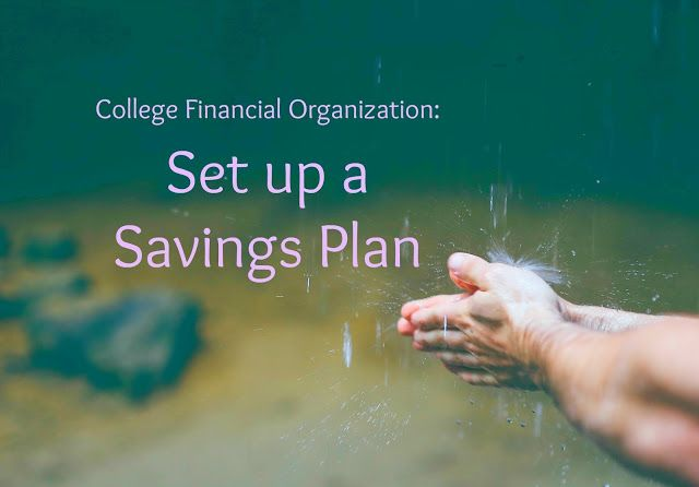 4 Tips for Organizing Your Finances in College | Why you NEED to set up a savings plan in college (even if you don't have a ton of money to save!) #collegeaveloans