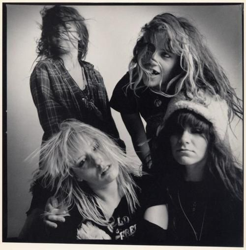 L7 at Lollapalooza in the early 90s. Used to love these guys.