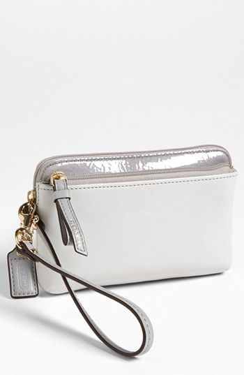 COACH 'Poppy' Phone Wristlet available at #Nordstrom