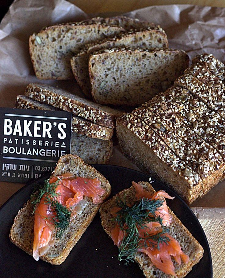 Delicious quinoa and burghul bread from Bakers Tel Aviv