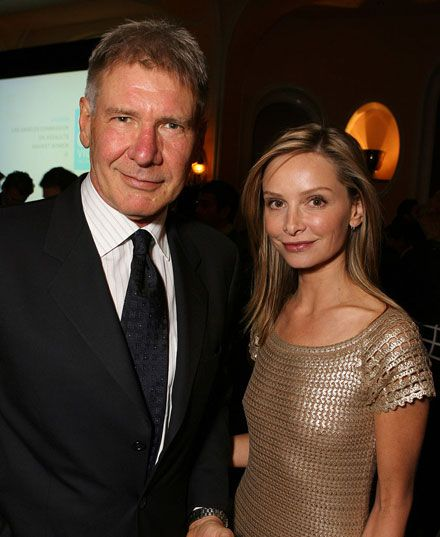 Harrison Ford & Calista Flockhart.  I have been on a Brothers & Sisters kick lately and I find Calista Flockhart absolutely beautiful.