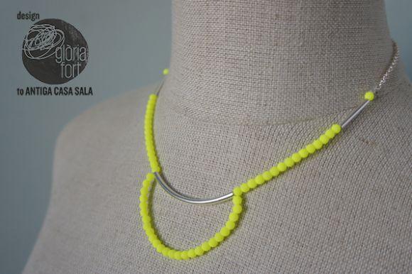 #DIY Collar Neon - design de Glòria Fort