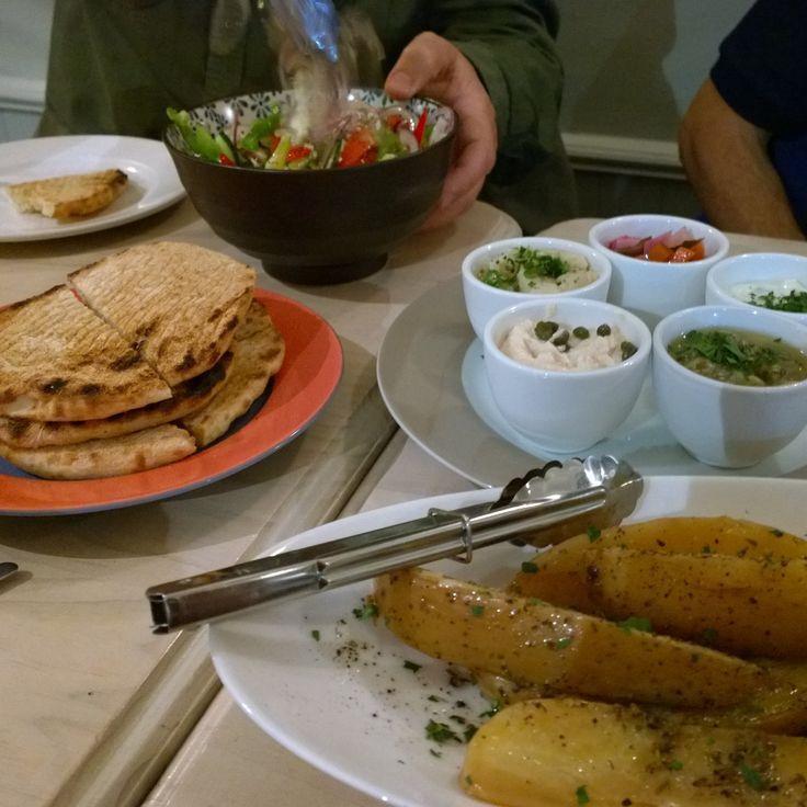 Mezes at a Greek Restaurant in Fitzroy #foodporn #foodies #nomnom #travel