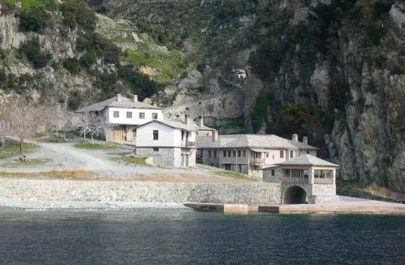 Ο αρσανάς της Μονής Διονυσίου, Άγιο Όρος - The arsenal of the Monastery of Dionysiou, Mt Athos
