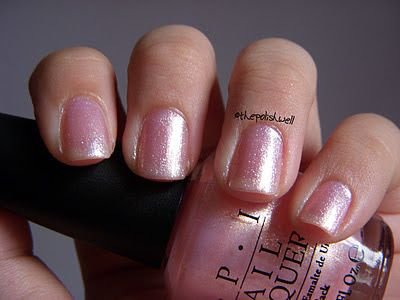 OPI: Princesses Rule! - Not sure how I feel about this one.  I keep on passing up the bottle when I am selecting the next color to use.