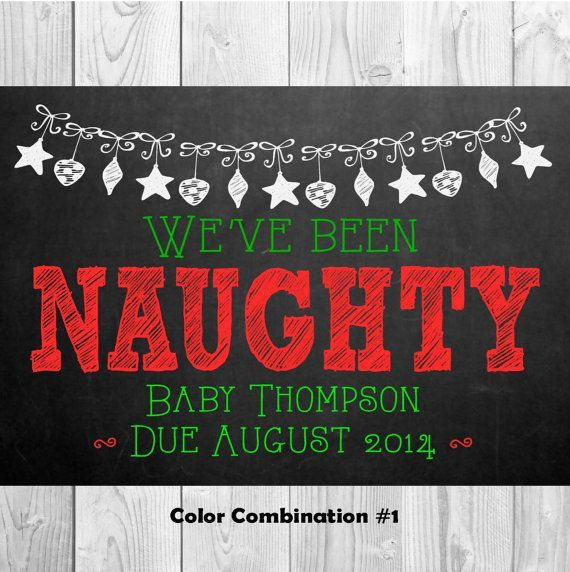 second baby announcement christmas - Google Search
