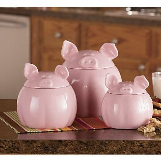 pig kitchen canisters 56 best fair buyers gift ideas images on pig 14548