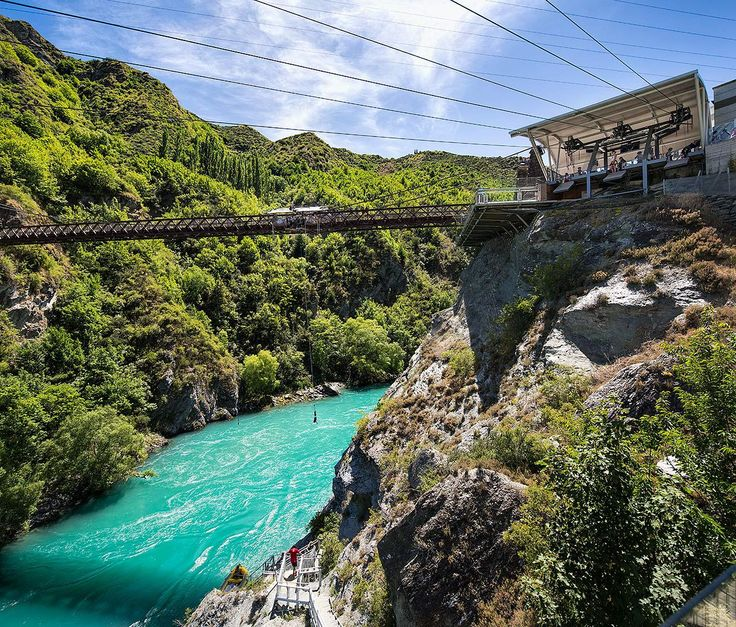 AJ Hackett Bungy Kawarau Bridge, Queenstown, #NewZealand