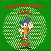 45cat - H.W.A. Featuring Sonic The Hedgehog - Supersonic / Supersonic (Instrumental) - Internal Affairs - UK - KGB 008