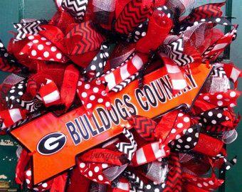 Georgia Bulldogs Wreath, Bulldogs Country Wreath, University of Georgia Wreath, Dawgs Wreath, Georgia Wreath, UGA Wreath, Bulldogs Wreath