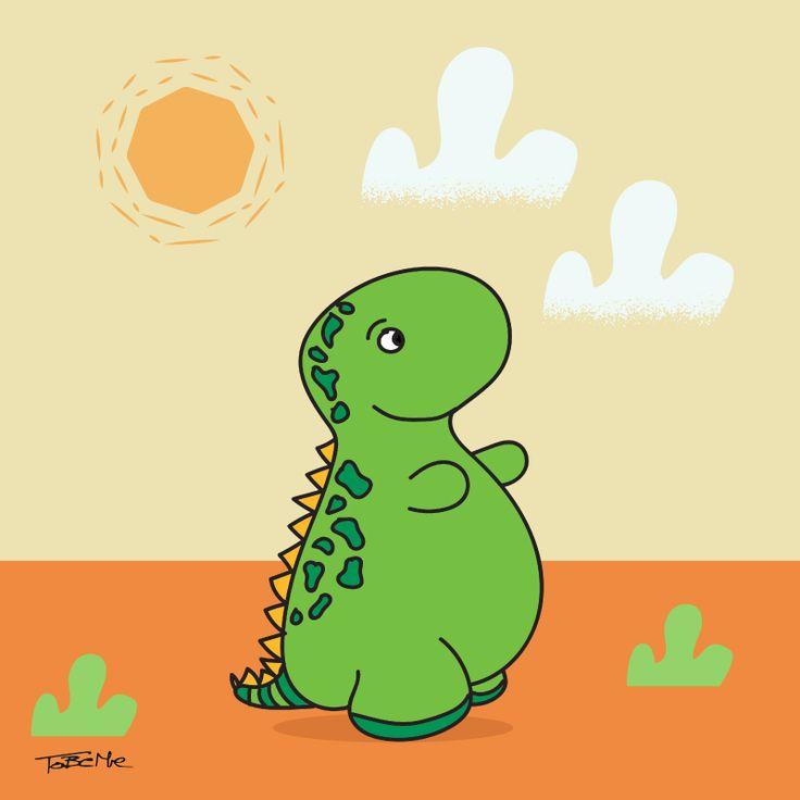 SUper cute dinosaur :)