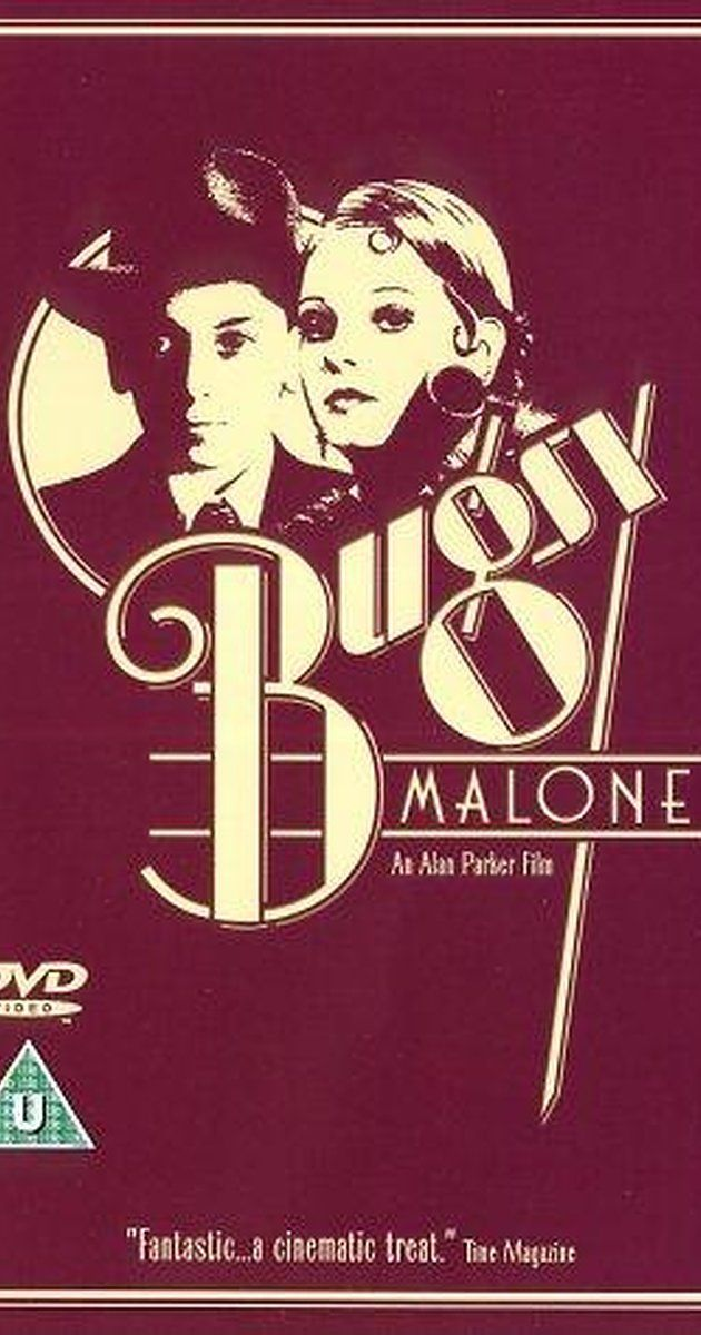 Directed by Alan Parker.  With Jodie Foster, Scott Baio, Florrie Dugger, John Cassisi. The classic gangster story of Bugsy Malone told with an all child cast.