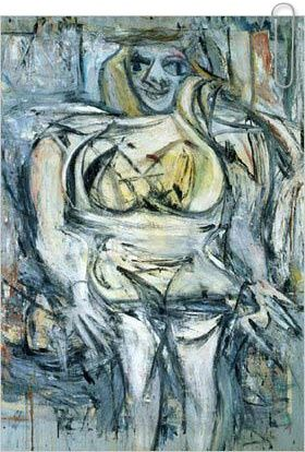 Woman III by Willem de Kooning