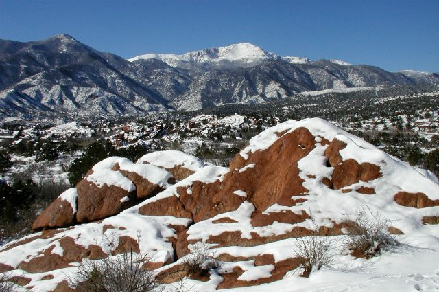 7 Stunning Winter Hikes Via Msn Garden Of The Gods In Colorado Springs Outdoor Adventure