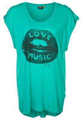 FESTIVAL - T-shirt med tryck - Grönt