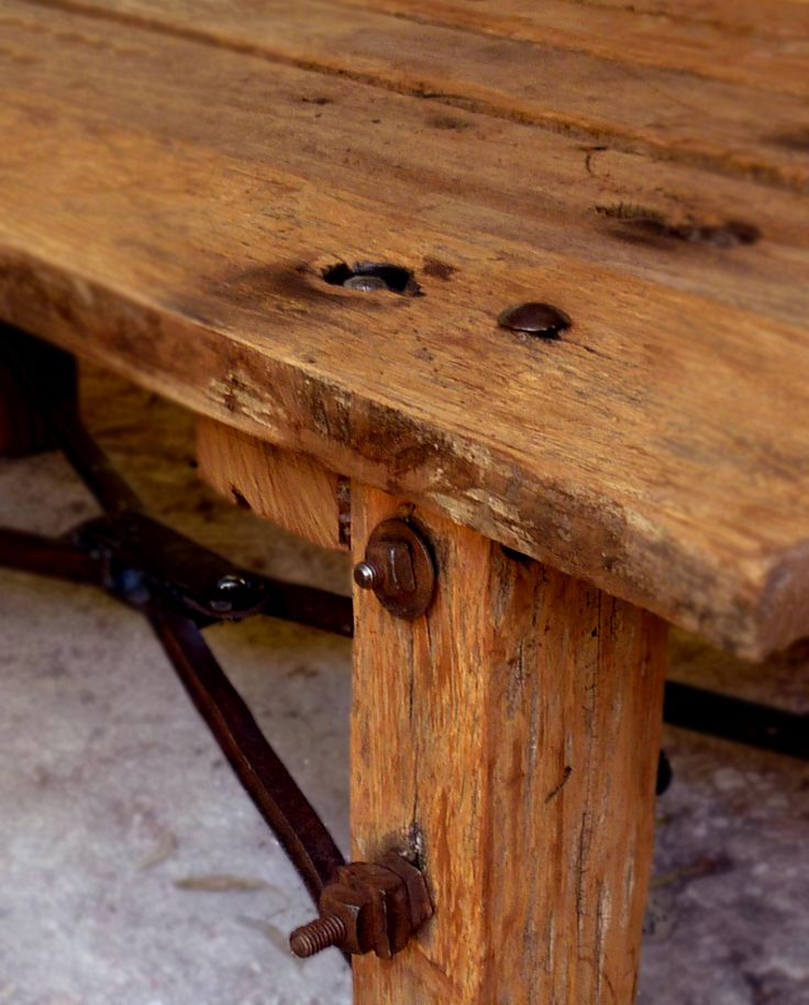 Muebles r sticos campestres e industriales muebles - Muebles industriales antiguos ...