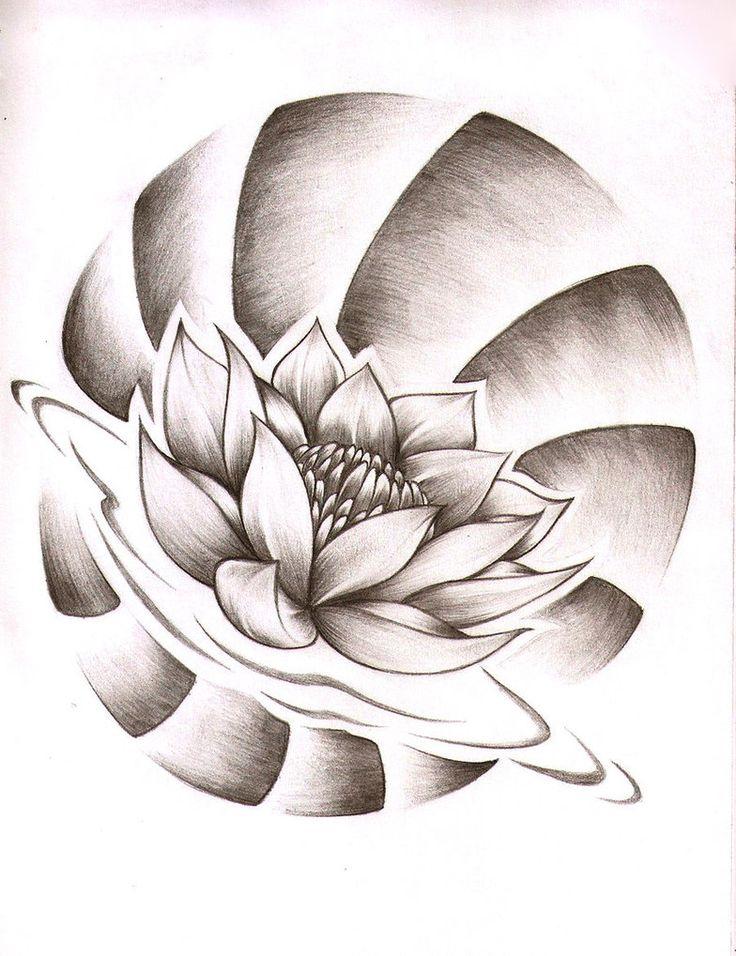 Flor de Loto by AbrahamGart                                                                                                                                                      Más