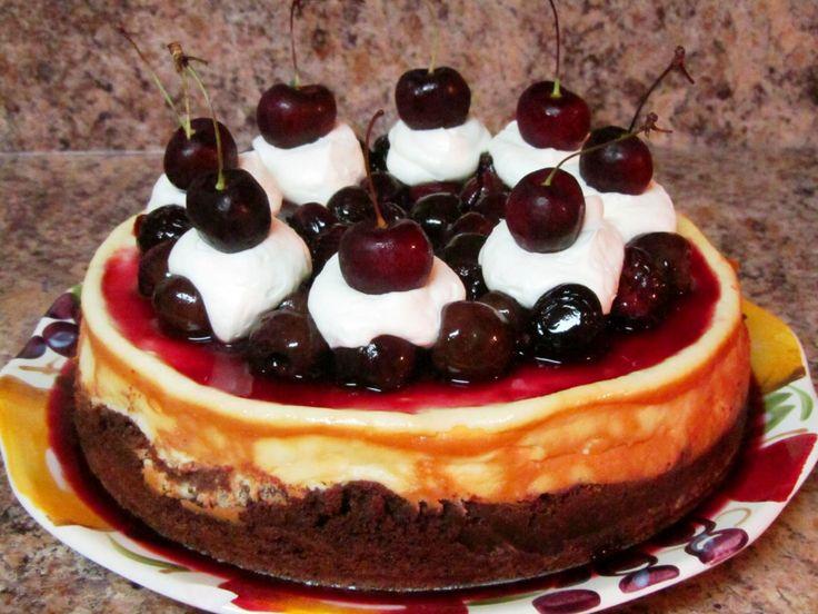 Review: OXO Cherry Pitter & Roasted Cherry Brownie Cheesecake