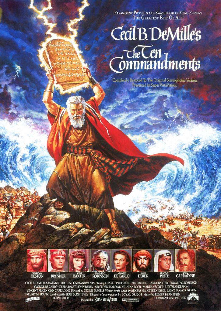 Les dix commandements. 1956. Cecil B DeMille. Americain