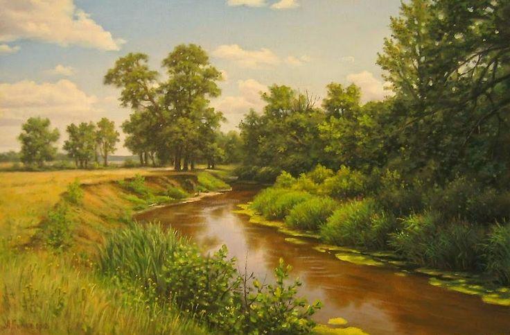 pinturas de paisajes naturales - Buscar con Google