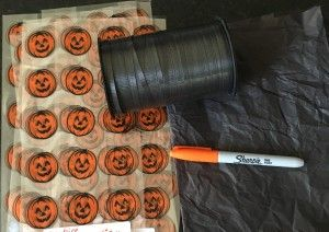 Craft Supplies for Treat Sacks! http://www.styledtosparkle.com/styledpicks/giftsandholidays/halloween-treat-bags/