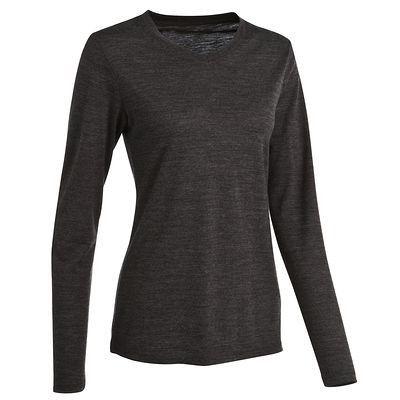 T-shirt Vêtements - TSHIRT TECHWOOL 50 LIGHT ML L QUECHUA - Les sous vêtements et accessoires