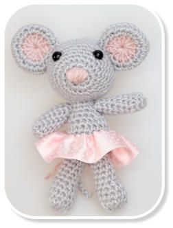 www.cudaczki.com #crochet #mouse