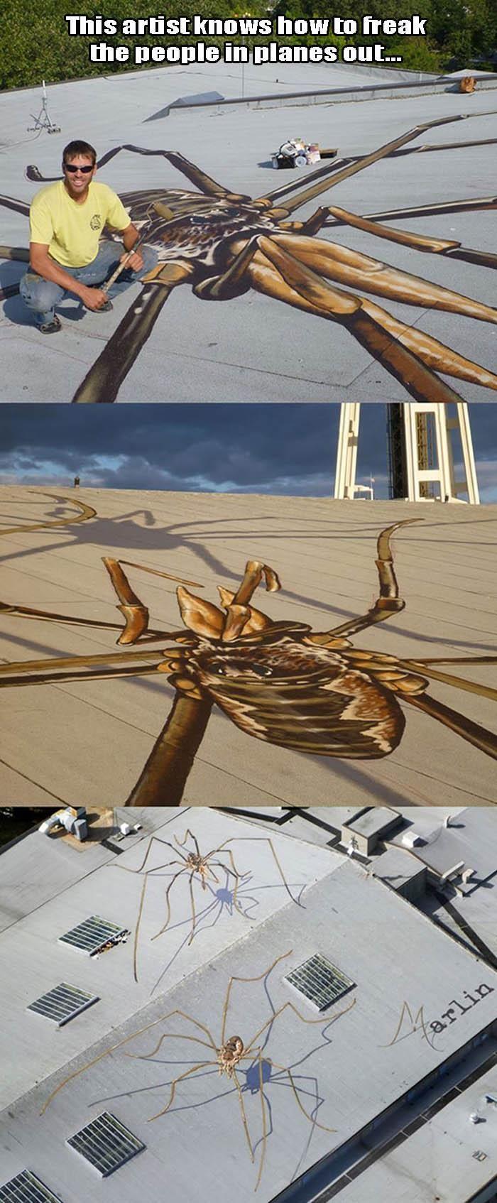 Artist Trolls Planes Like A Boss! – 3 Pics