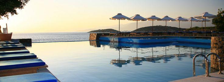 St Nicolas Bay hotel outdoor pool