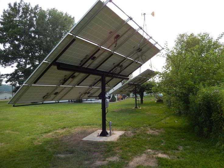 Timed Tracker Solar Panel Mounting System