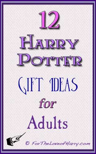 Here are 12 great Harry Potter gifts for adults! You are sure to find the right present for Christmas, birthdays, or any other occasion. #harrypotter #christmas #gift