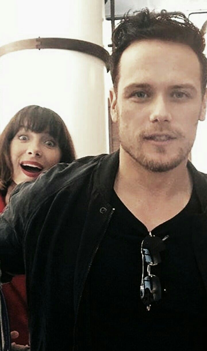 Sam photo bombed by Cait | All Things Sam part deux in 2019