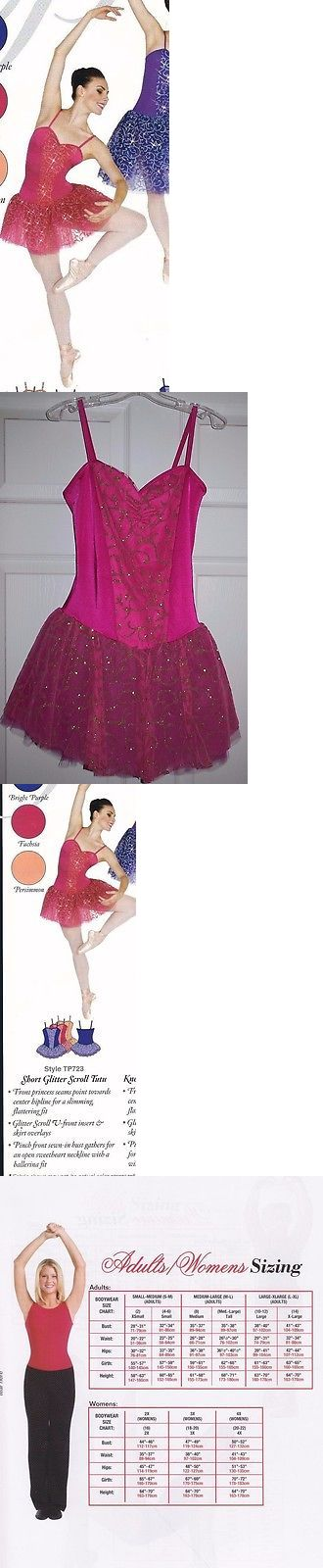 Other Adult Dancewear 112428: Nwot Body Wrappers Dance Ballet Glitter Short Tutu Fuchsia Cami Leotard Adult M -> BUY IT NOW ONLY: $38.39 on eBay!