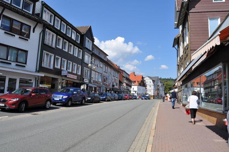 Innenstadt #Braunlage als Ausgangpunkt für zahlreiche Aktivitäten