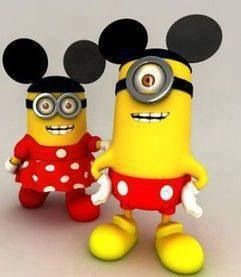 Mickey Mouse n Minnie Mouse