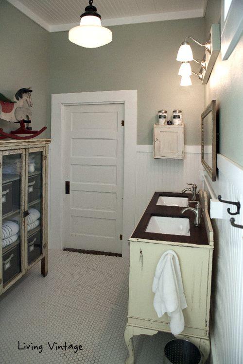 Master Bathroom Reveal - Living Vintage