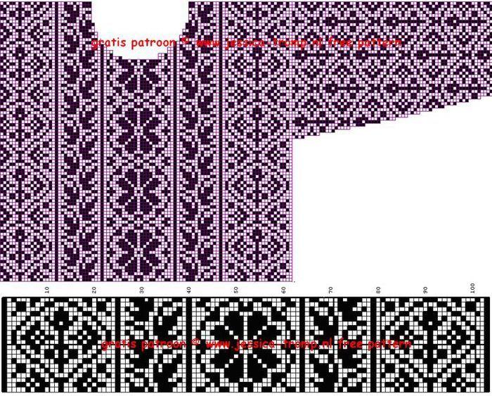 Мобильный LiveInternet Схемы для норвежских свитеров. Двухцветные | Irina095 - Дневник Irina095 |