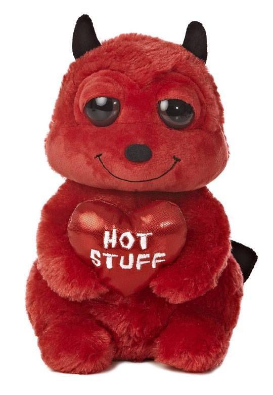 Roses Valentine S Day With Stuff Toys : Aurora plush valentines day devil dreamy eyes flopsie