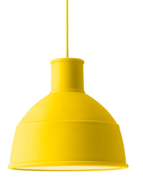 #Muuto #Unfold #hanglamp geel