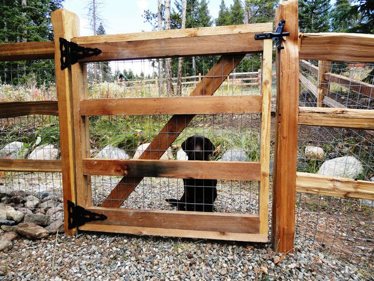 How To Build A Wooden Farm Gate - WoodWorking Projects & Plans