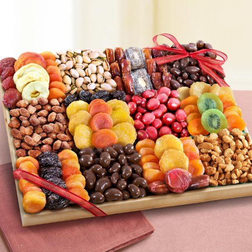 Sweet Extravagance Ultimate Dried Fruit and Snacks Party Tray - http://mygourmetgifts.com/sweet-extravagance-ultimate-dried-fruit-and-snacks-party-tray/